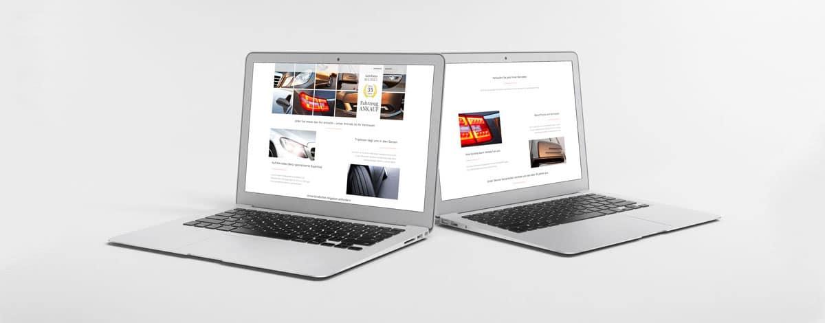 Neue Internetseite für das Autohaus Bourset durch die mediaagentur-in.berlin