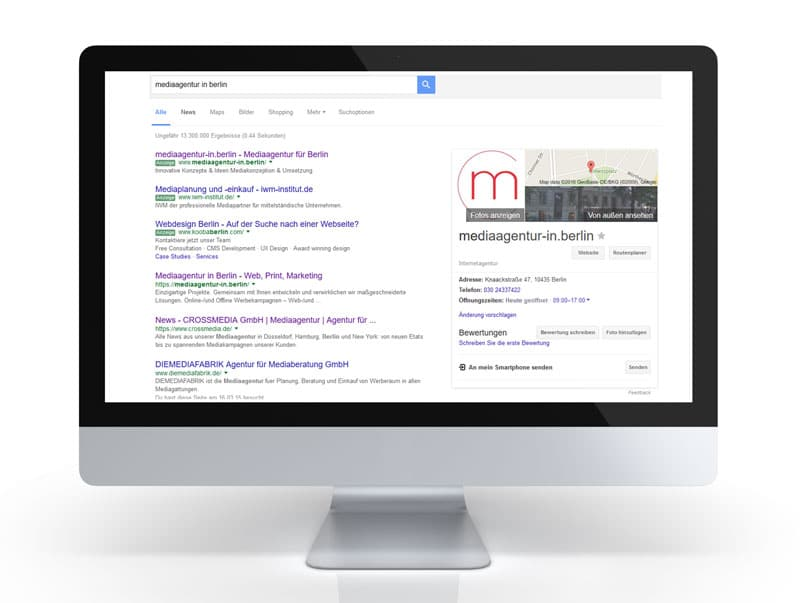 Google My Business local SEO