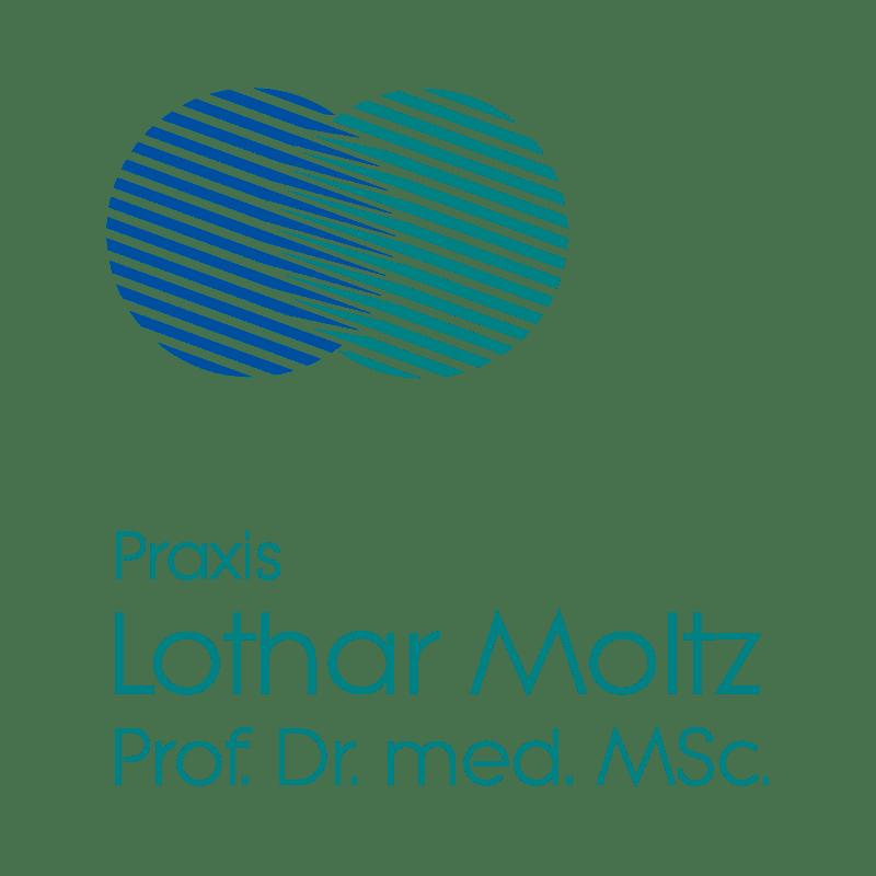 Druckstücke und Logo-Redesign für Professor Dr. Lothar Moltz durch die mediaagentur-in.berlin