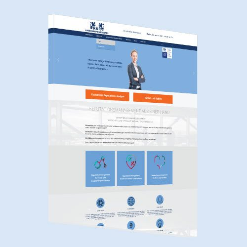 Responsive Website Layout 5
